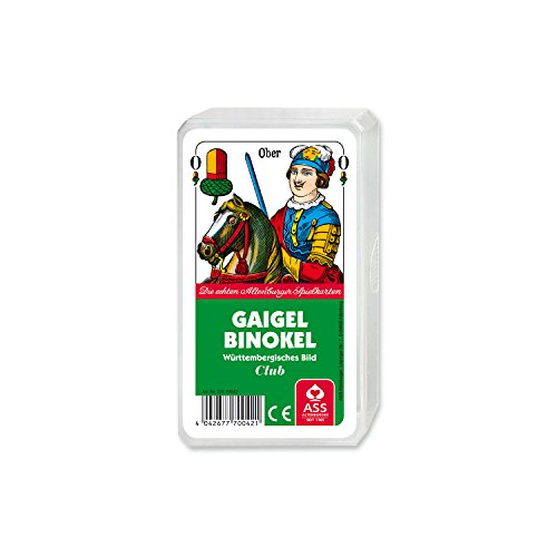 Kartenspiel Gaigel Binokel württembergisches Bild im Kun...