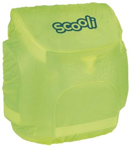 Scooli Regenschutzhülle gelb für Ranzen und Rucksäcke