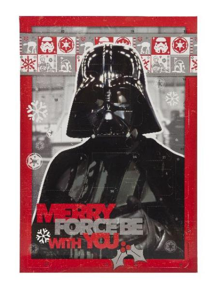 UNDERCOVER Adventskalender Star Wars, bestückt