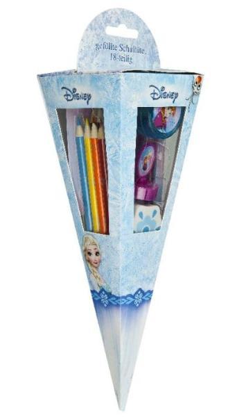 Schultüte 18 teilig Disney Frozen Die Eiskönigin