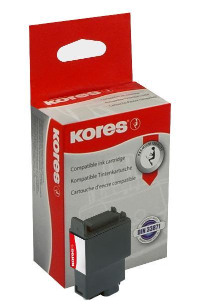 Kores Tinte G944BK ersetzt Canon BCI-21BK/BCI-24BK, schwarz