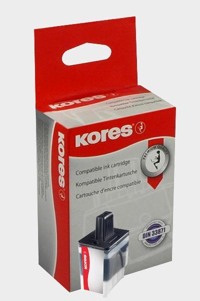 Kores Tinte G1034BK ersetzt brother LC-900BK, schwarz