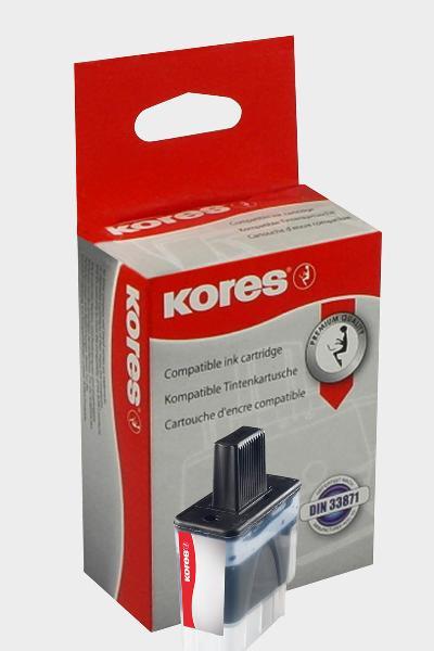 Kores Tinte G1034C ersetzt brother LC-900C, cyan