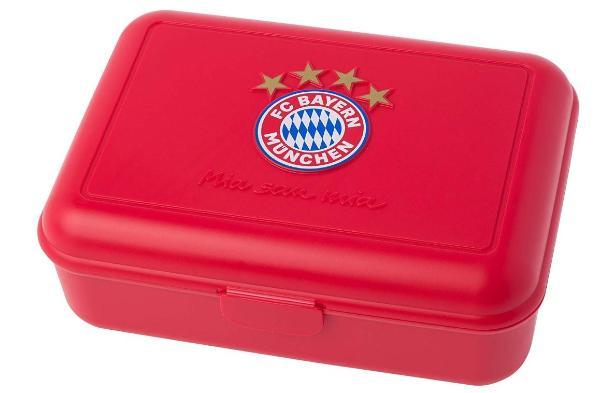 FC Bayern Brotzeitdose rot Mia san mia