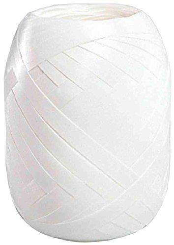SUSY CARD Ringelband-Eiknäuel, glatt, 5 mm x 20 m, weiß