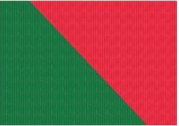 SUSY CARD Weihnachts-Geschenkpapier grün/rot, Rolle