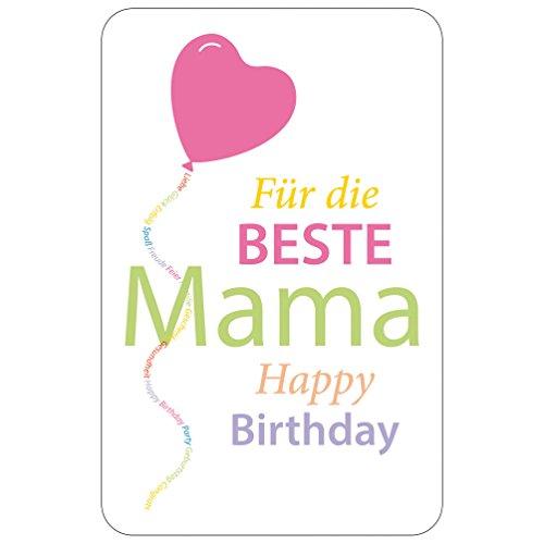 SUSY CARD Geburtstagskarte Beste Mama