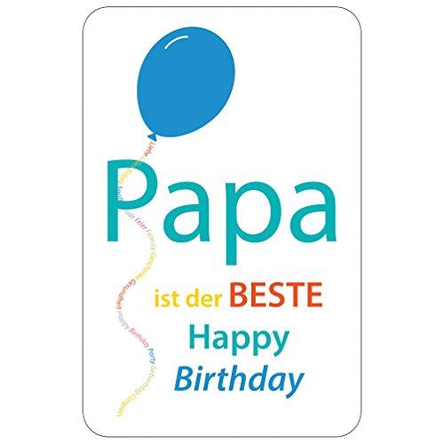 SUSY CARD Geburtstagskarte Bester Papa