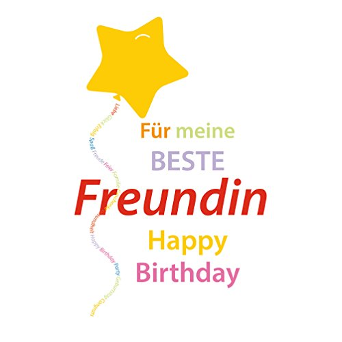 SUSY CARD Geburtstagskarte Beste Freundin