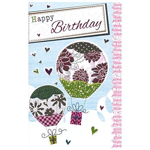 SUSY CARD Geburtstagskarte Sweet sunshine Ballon