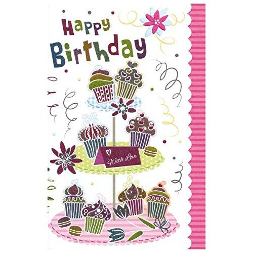 SUSY CARD Geburtstagskarte Sweet sunshine Muffins