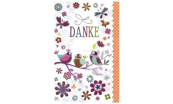 SUSY CARD Danksagungskarte Sweet sunshine