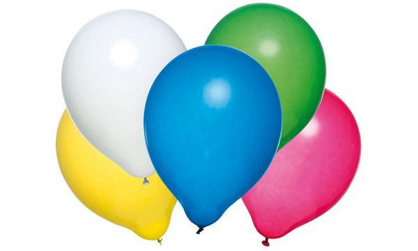 SUSY CARD Luftballons, farbig sortiert