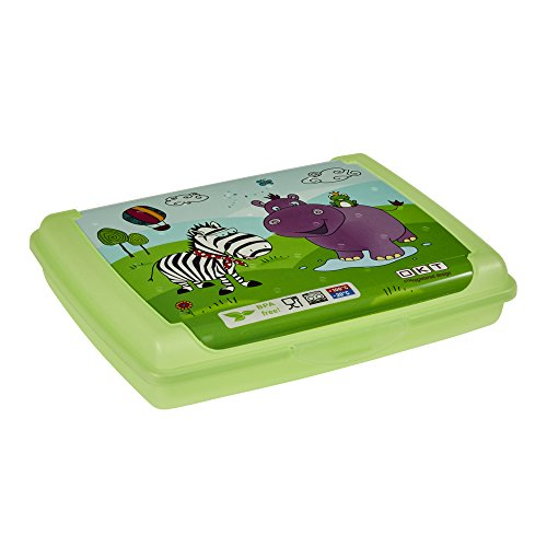 keeeper kids Brotdose olek hippo, mini, grün