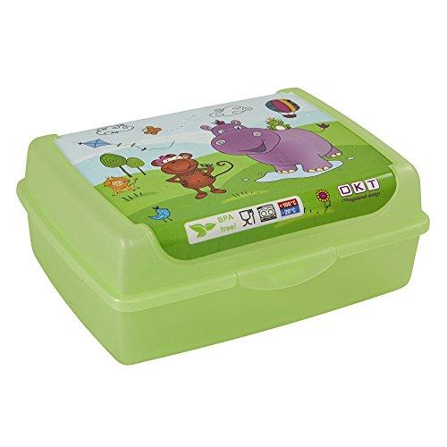 keeeper kids Brotdose olek hippo, midi, grün