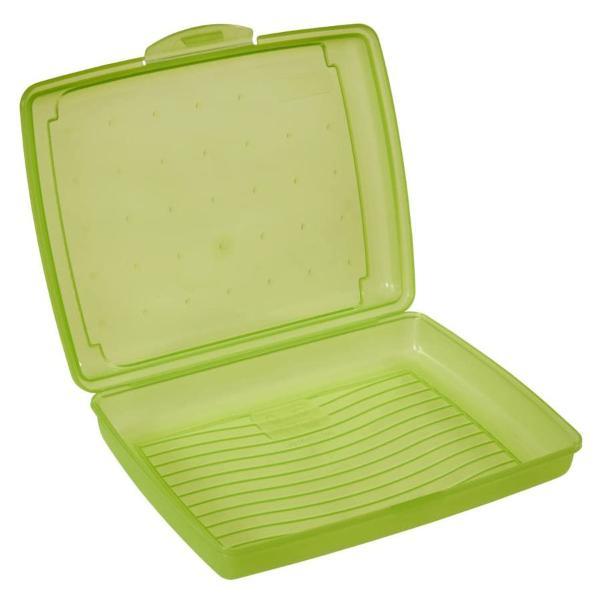 keeeper Brotdose luca, Click-Box Mini, grün-transparent