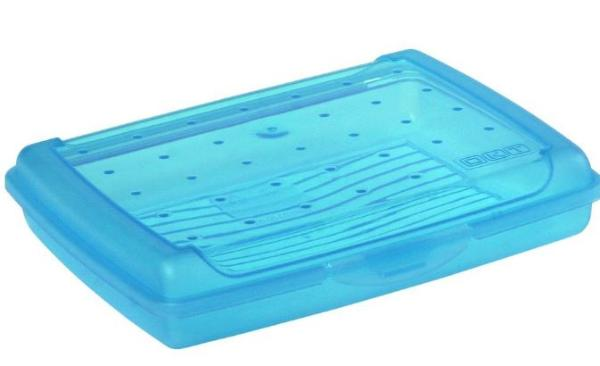 keeeper Brotdose luca, Click-Box Mini, blau-transparent