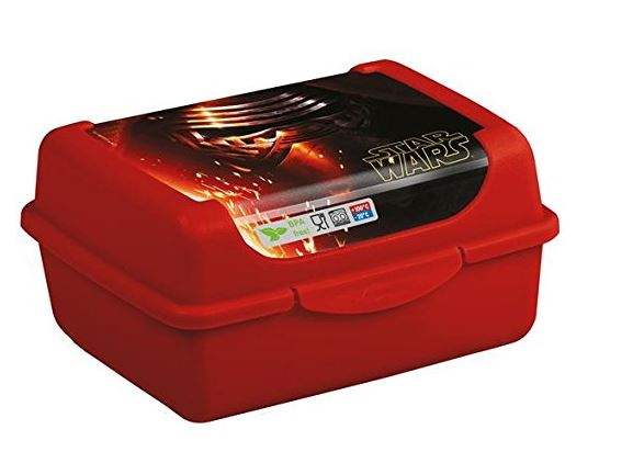 keeeper kids Brotdose olek star wars, micro, Calcutta-red
