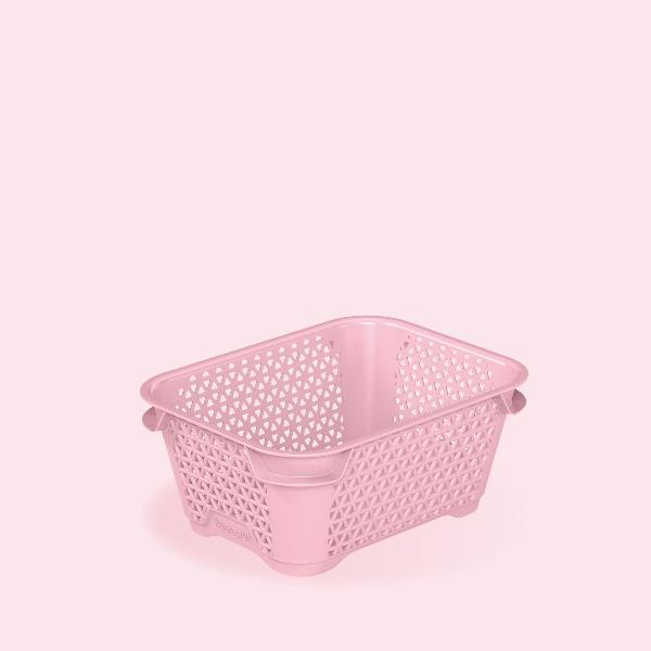 keeeper Stapelkörbchen mirko, DIN A7, pearl pink