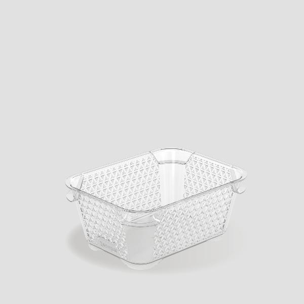 keeeper Stapelkörbchen mirko, DIN A7, transparent
