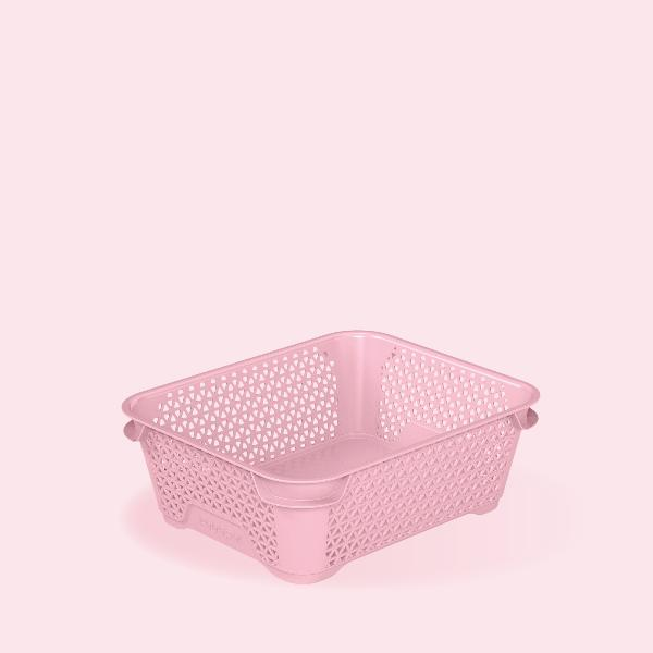 keeeper Stapelkörbchen mirko, DIN A6, pearl pink