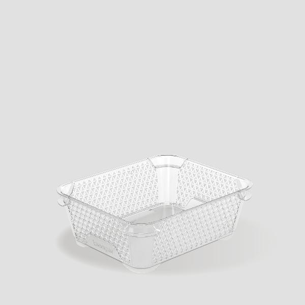 keeeper Stapelkörbchen mirko, DIN A6, transparent