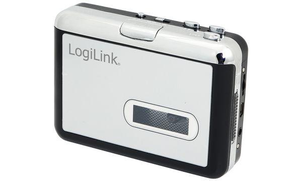 LogiLink Walkman, mit Konverter Funktion, schwarz/silber