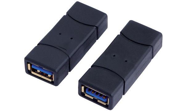 LogiLink USB 3.0 Adapter, USB-A Kupplung - USB-A Kupplung