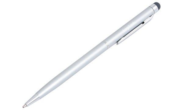 LogiLink Eingabestift mit Kugelschreiber, silber