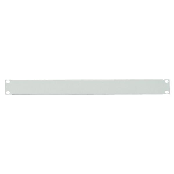 LogiLink 19 Blindplatte, 1 HE, lichtgrau (RAL7035)