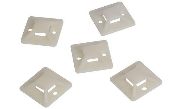 LogiLink Kabelbinderhalterungen, 25 x 25 mm