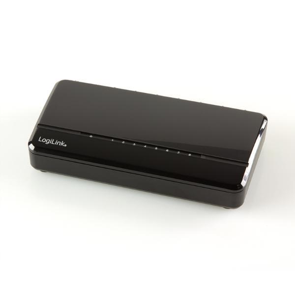 LogiLink Desktop Fast Ethernet Switch, 8-Port