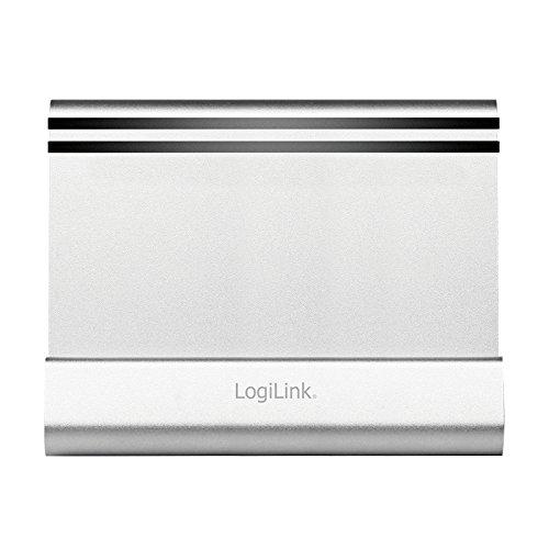 LogiLink Tablet-PC-Ständer, Aluminium, silber
