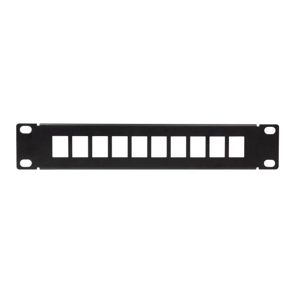 LogiLink 10 Keystone Patch Panel, schwarz