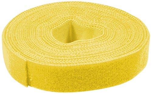 LogiLink Klettband, 16 mm x 4 m, gelb