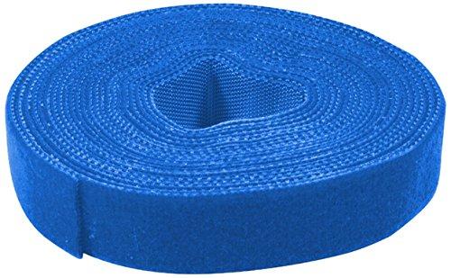 LogiLink Klettband, 16 mm x 4 m, blau
