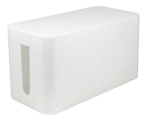 LogiLink Kabelbox small size, Farbe: weiß