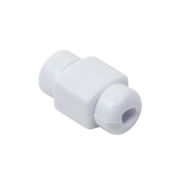 LogiLink Knickschutz für USB Kabel, aus Silikon, weiß