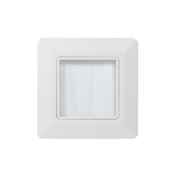 LogiLink Unterputzdose für Kabeleinführung, 80 x 80 mm