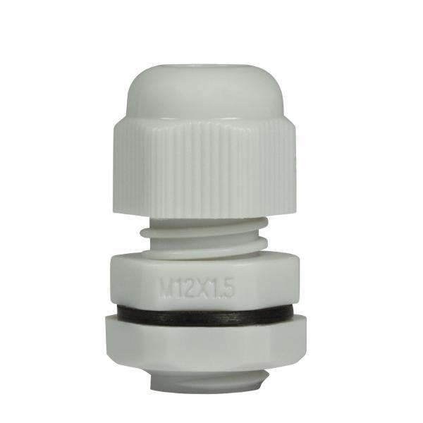 LogiLink Kabelverschraubung M12, IP68, lichtgrau (RAL7035)