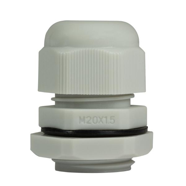 LogiLink Kabelverschraubung M20, IP68, lichtgrau (RAL7035)