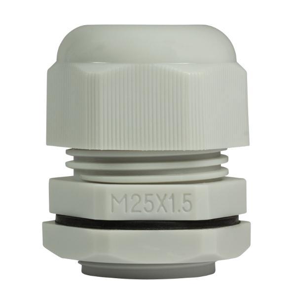 LogiLink Kabelverschraubung M25, IP68, lichtgrau (RAL7035)
