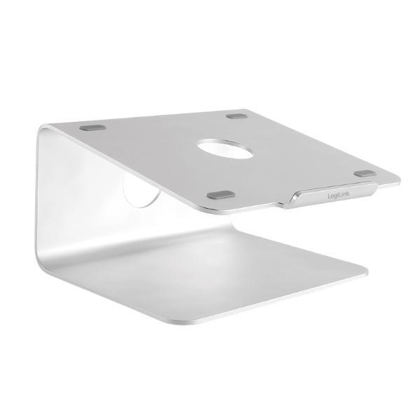 LogiLink Notebook-Ständer, aus Aluminium, bis 43,18 cm (...