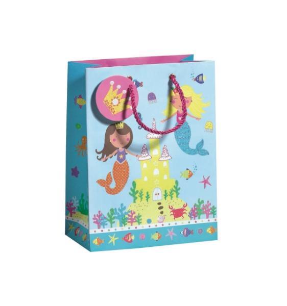 Geschenktragetasche Lovely Mermaid Midi, Größe B170 x T0...