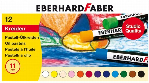 EBERHARD FABER Ölpastellkreide, 12er Kartonetui