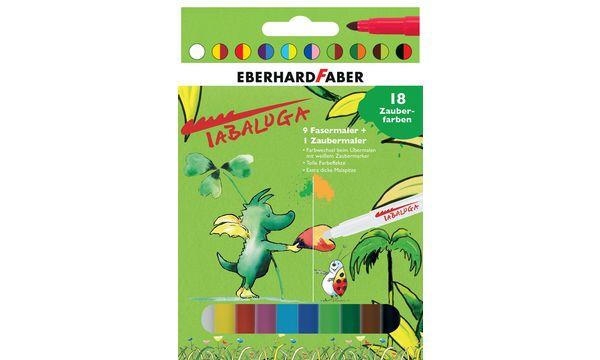EBERHARD FABER Fasermaler Zaubermarker Tabaluga, 9 + 1 Etui