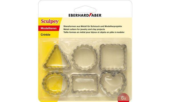 EBERHARD FABER Stanzformen-Set Sculpey Crinkle