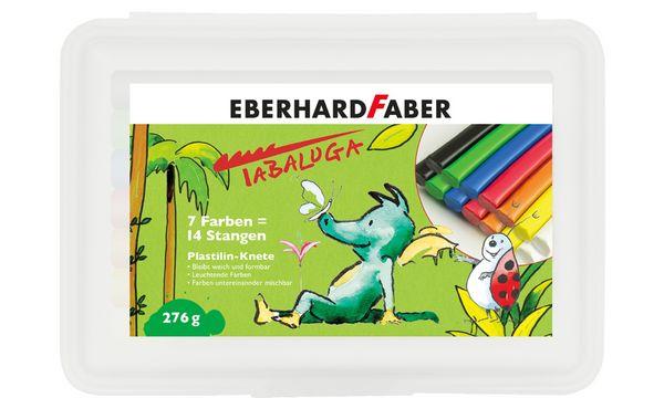 EBERHARD FABER Plastilin-Knete Tabaluga, 14er Kunststoff...