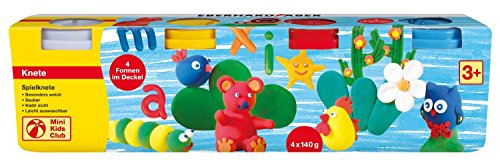 EBERHARD FABER Spielknete-Set, 4 Basisfarben