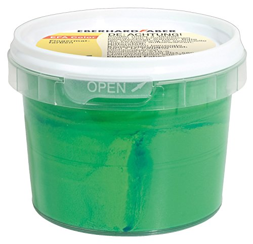EBERHARD FABER Fingerfarbe EFA Color, permanentgrün, 100 ml